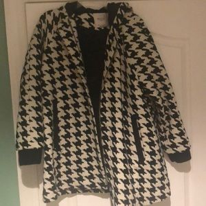 Zara Houndstooth Jacket